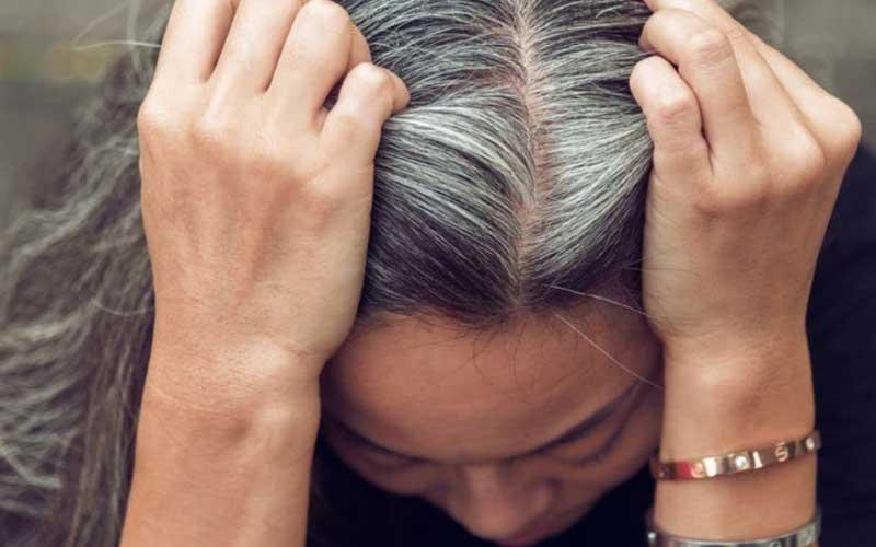 ناراحتی های عصبی عامل ریزش مو