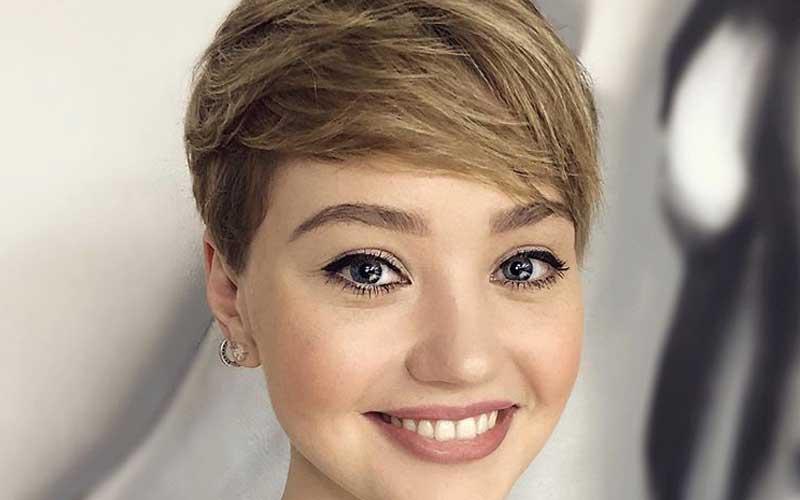 آرایش پیشانی کوتاه