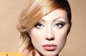 آرایش کلاسیک برای صورت کشیده