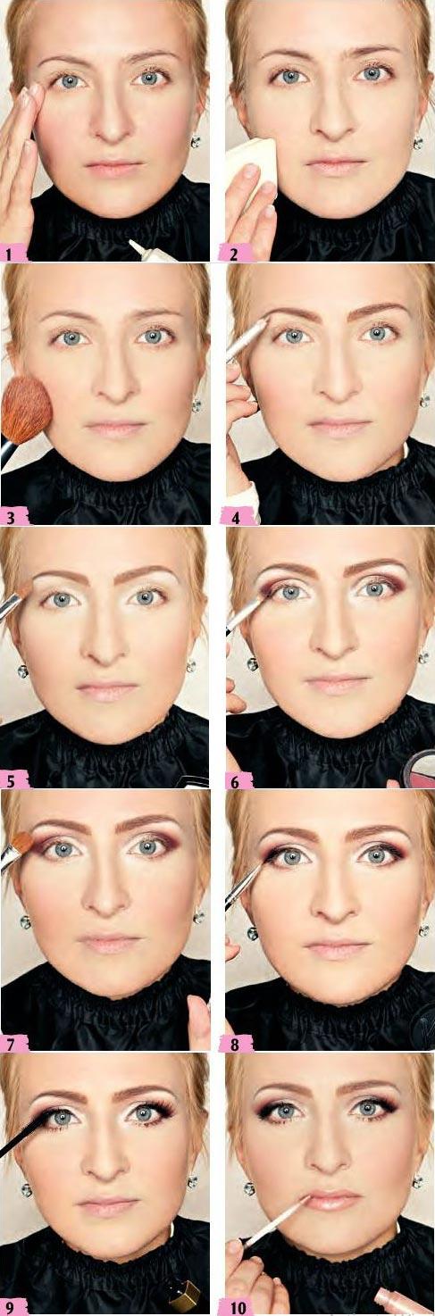 آموزش آرایش رزگلد