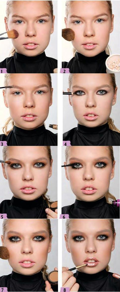 آموزش آرایش غلیظ و جذاب