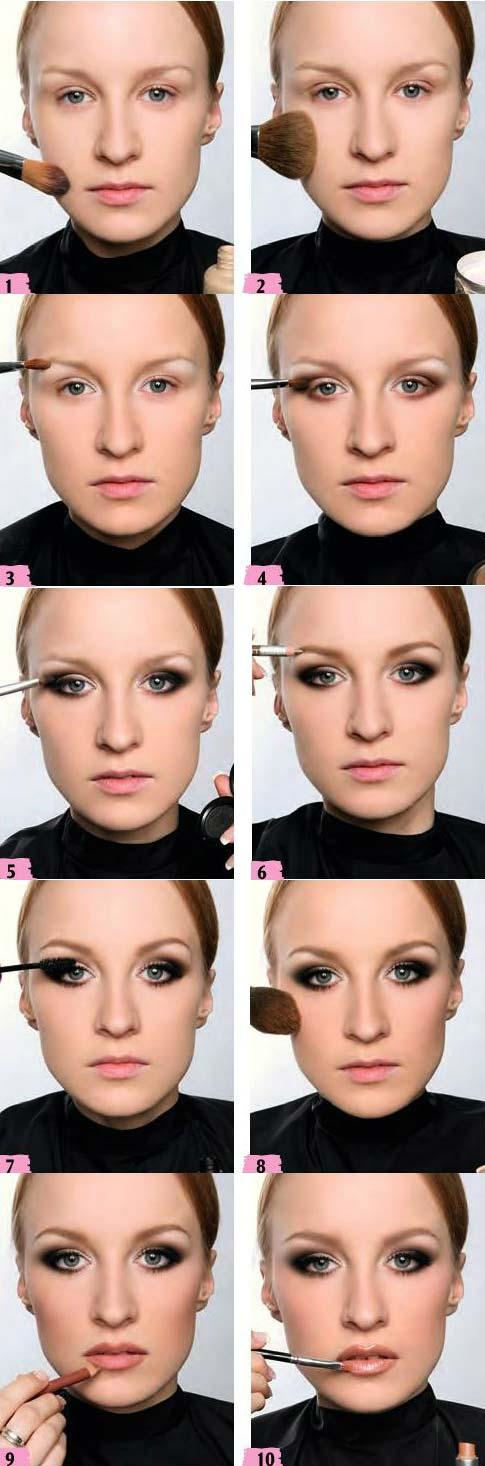 آموزش آرایش مات