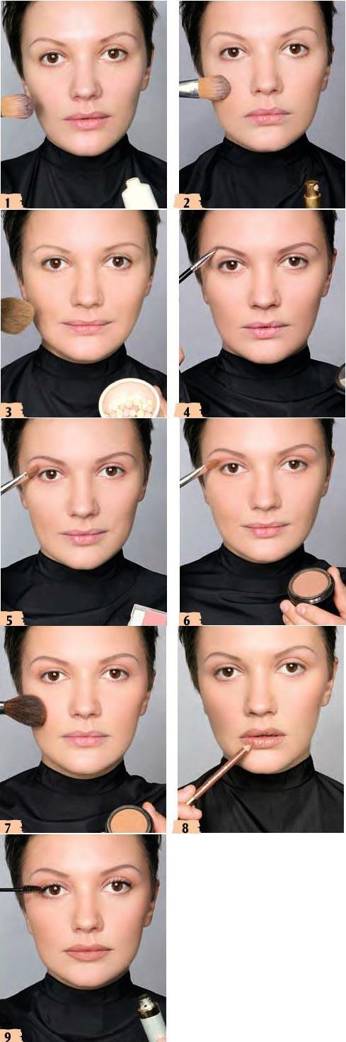 آموزش آرایش ملایم و ساده