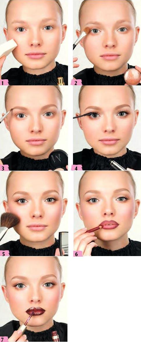 آموزش آرایش هالیوودی