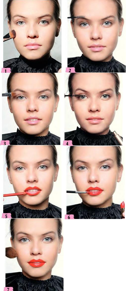 آموزش آرایش کلاسیک دخترانه