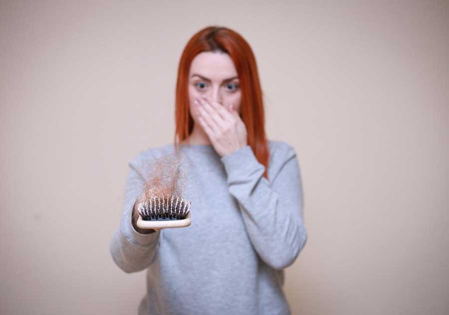 ریزش مو بعد از ریباندینگ مو