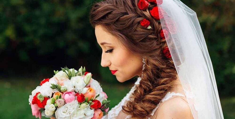 مدل شینیون عروس جدید و شیک