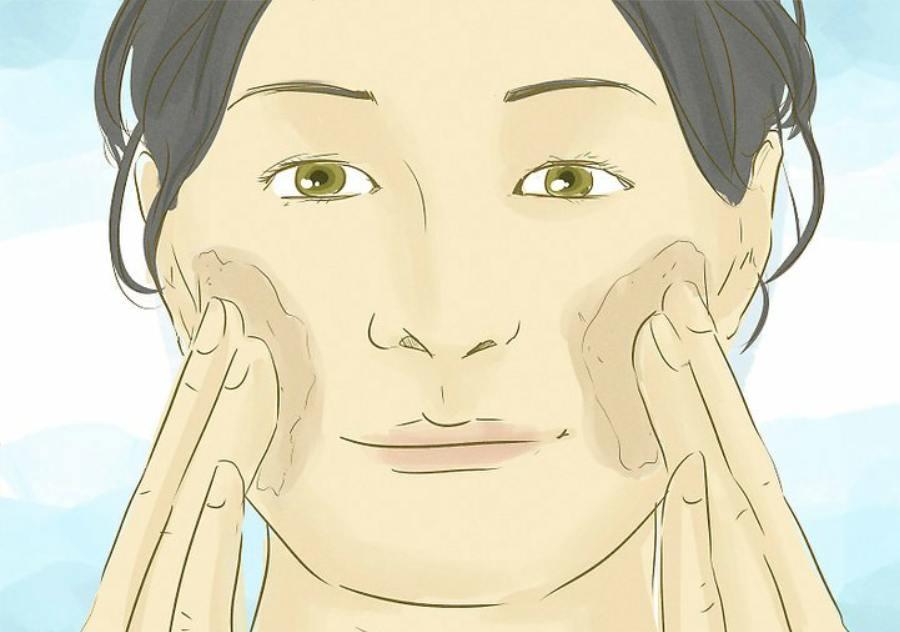 لایه برداری پوست برای پیشگیری از خشکی