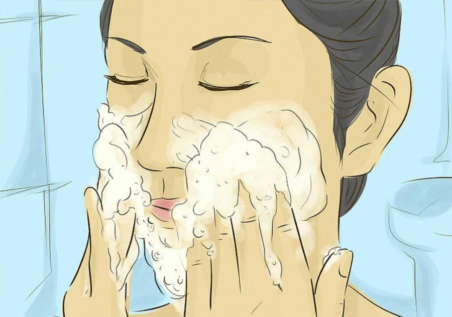 شستن صحیح صورت
