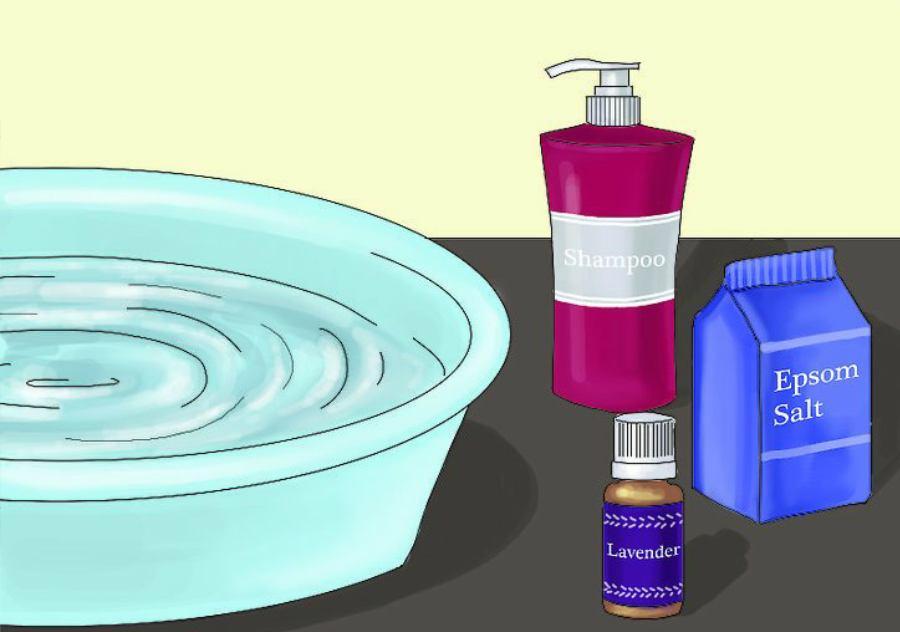 افزوده روغن و ویتامین به آب گرم