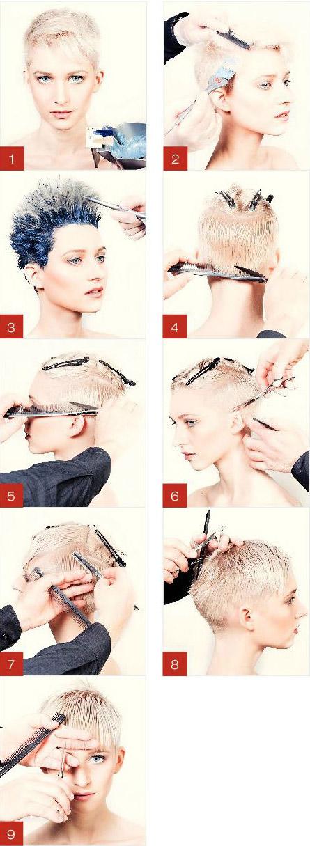 آموزش کوتاهی مو مدل فشن