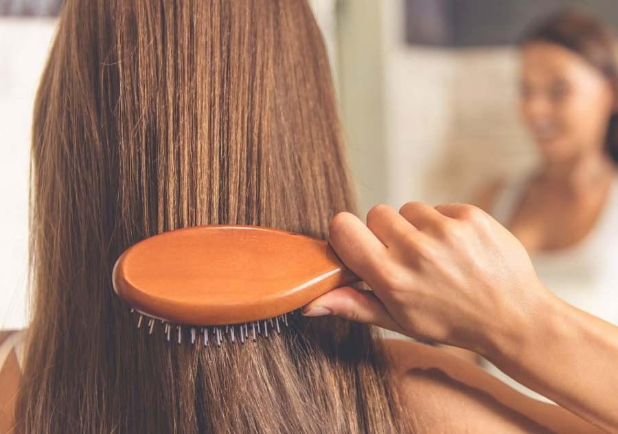 رنگ کردن مو با پوست گردو