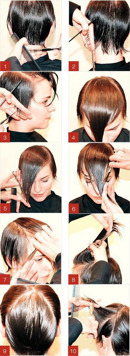 آموزش کوتاهی مو لایه ای
