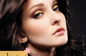 آرایش زرد طلایی