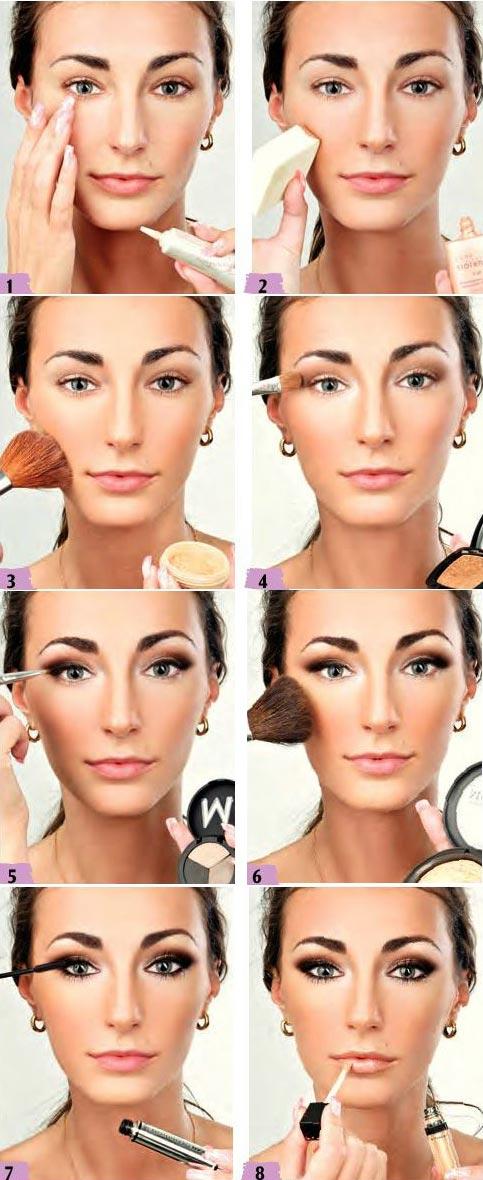 آموزش آرایش براق