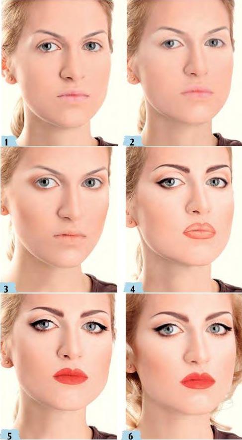 آموزش آرایش به سبک مدونا