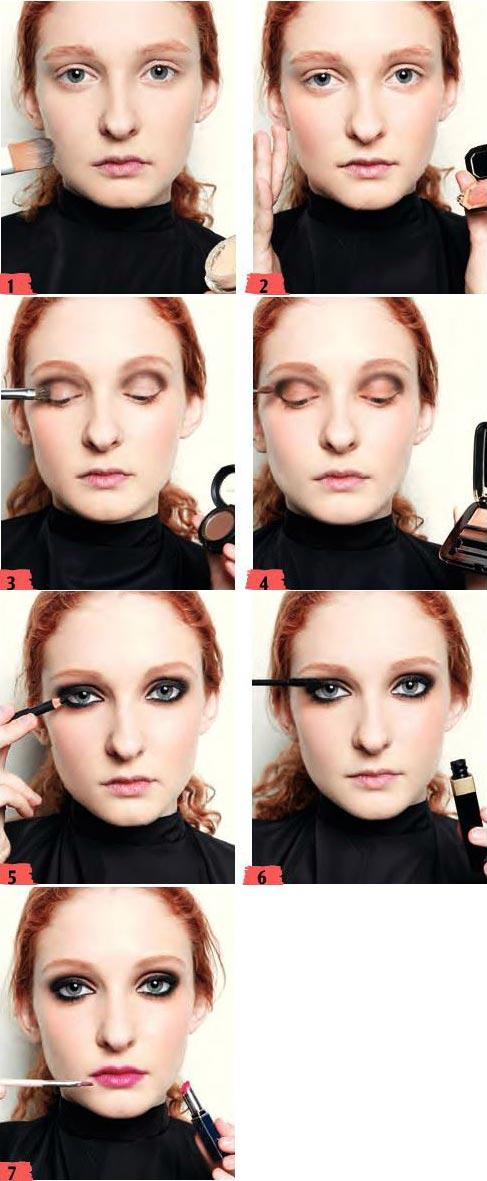 آموزش آرایش ترکیه ای