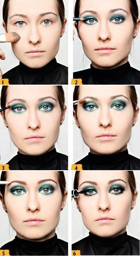 آموزش آرایش طاووسی