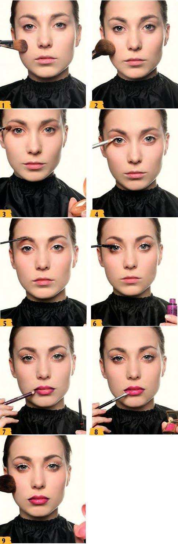 آموزش آرایش چشم گربه ای