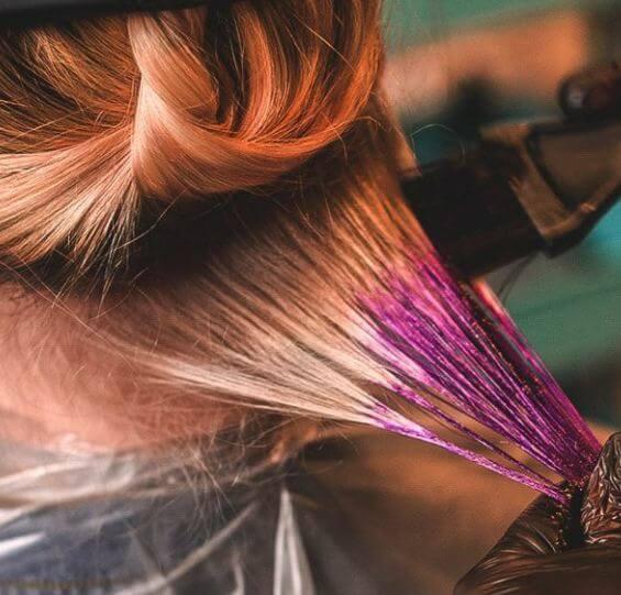 روش های مراقبت از موهای رنگ شده