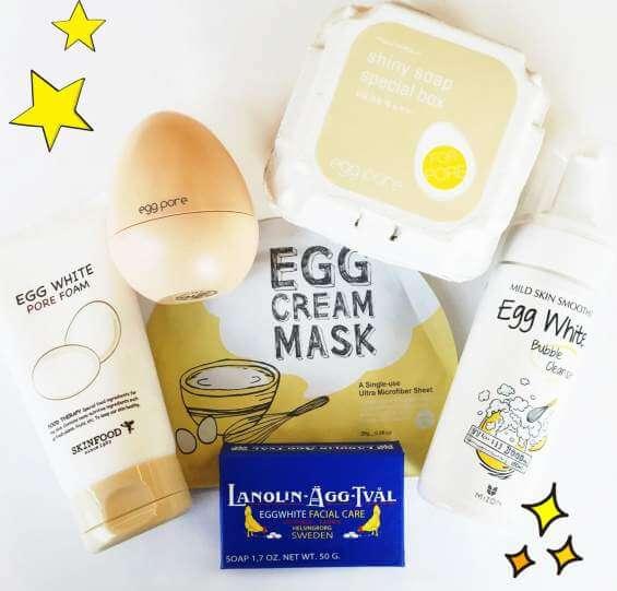 ماسک سفیده تخم مرغ