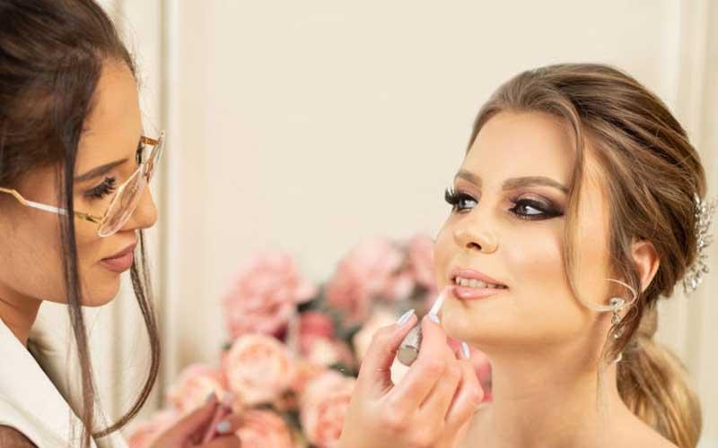 تست آرایش قبل از عروسی