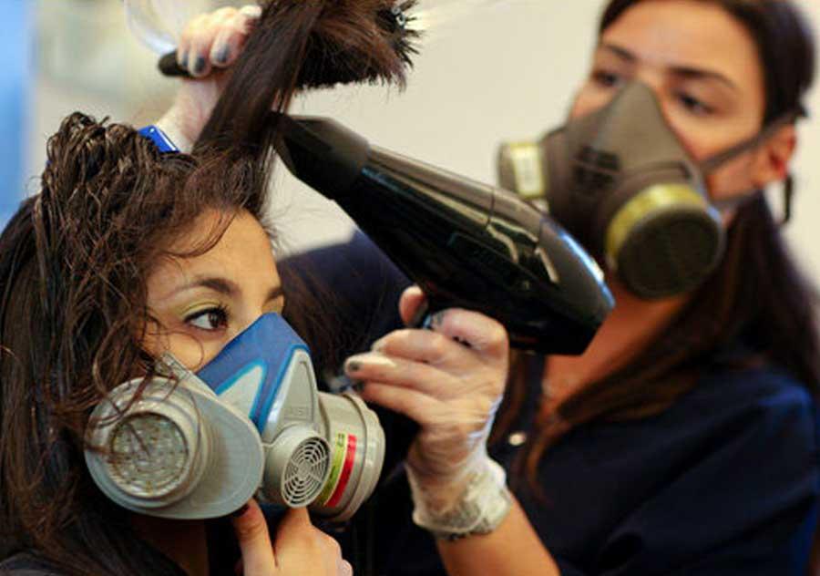 تاثیر کرونا در حوزه آرایشگری