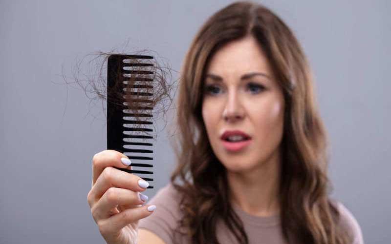 عوامل طبیعی ریزش مو