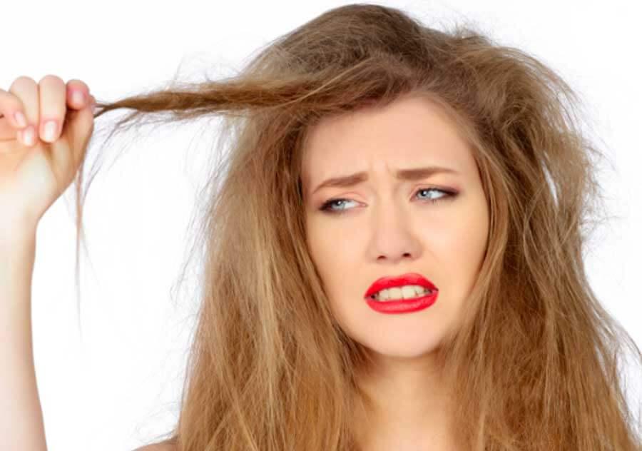 ماسک مو برای موهای خشک و آسیب دیده