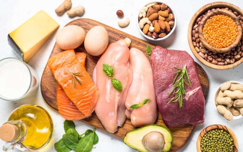 مصرف پروتئین برای تقویت ناخن ها