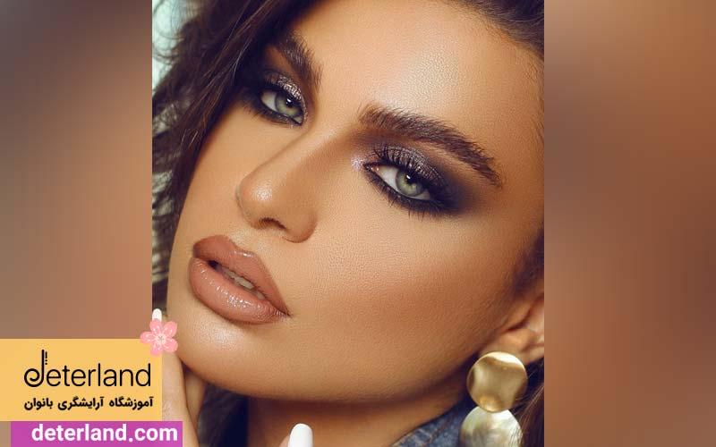 میکاپ و آرایش عربی جذاب