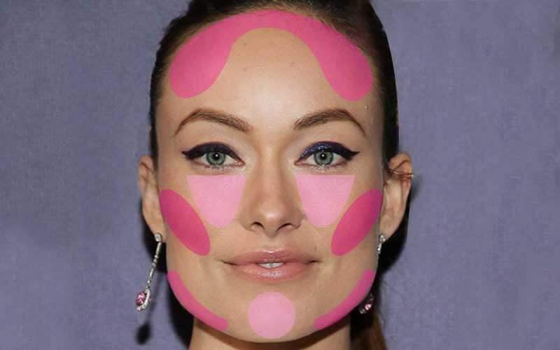 آرایش مناسب صورت مربعی