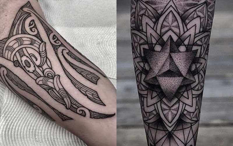 سبک تاتو تریبال (Tribal)