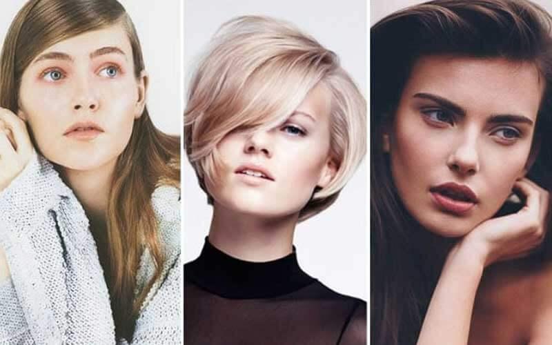 مدل مو صورت مربعی