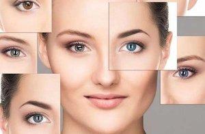 انتخاب لنز رنگی چشم مناسب رنگ پوست و مو