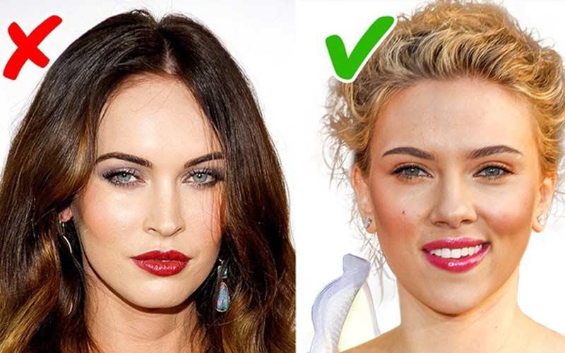 انتخاب رژ لب مناسب رنگ موها