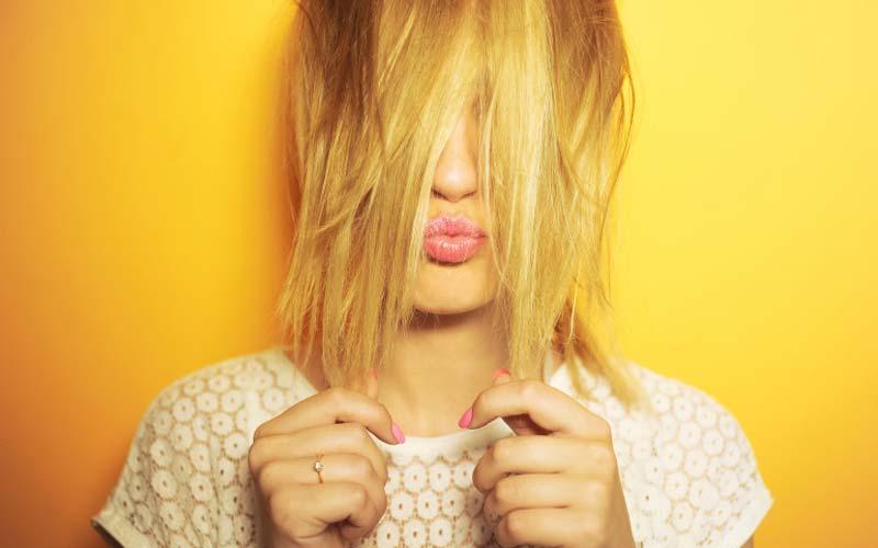 رفع تناژ زردی مو