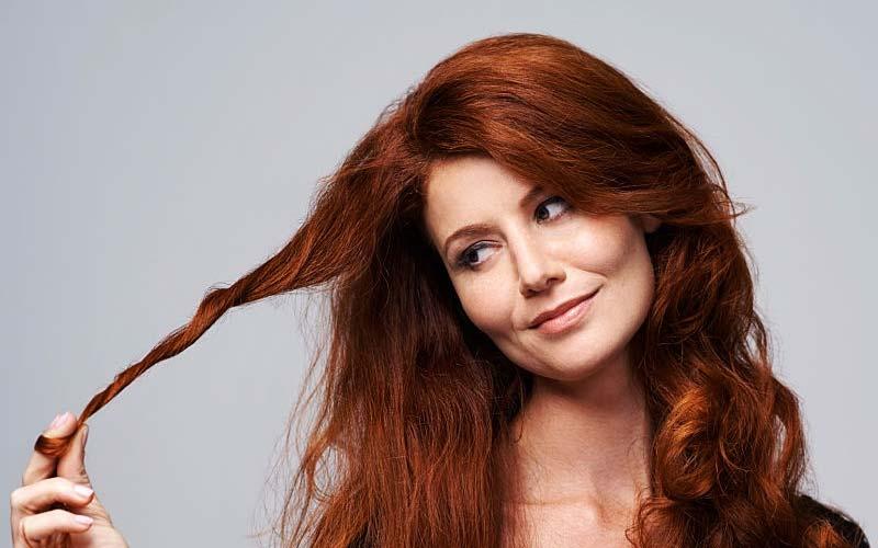 رفع تناژ قرمز مو