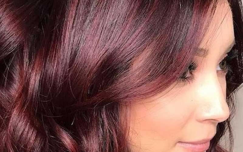 رنگ مو ماهاگونی