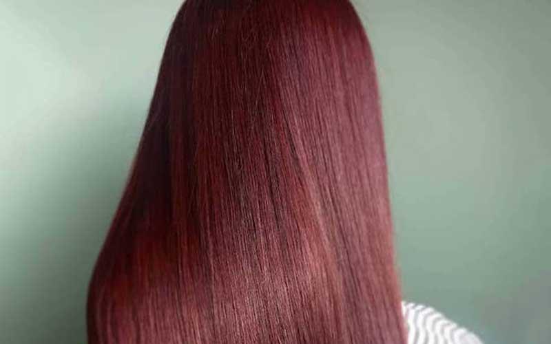 رنگ مو ماهاگونی روشن