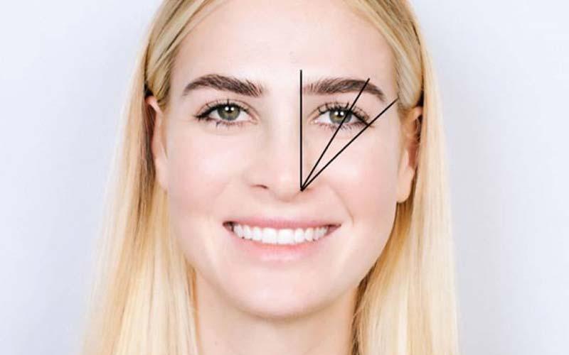 مدل ابرو مناسب انواع فرم صورت