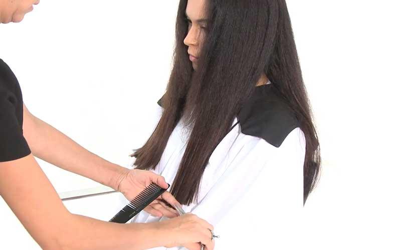 ادغام اکستنشن با موهای طبیعی