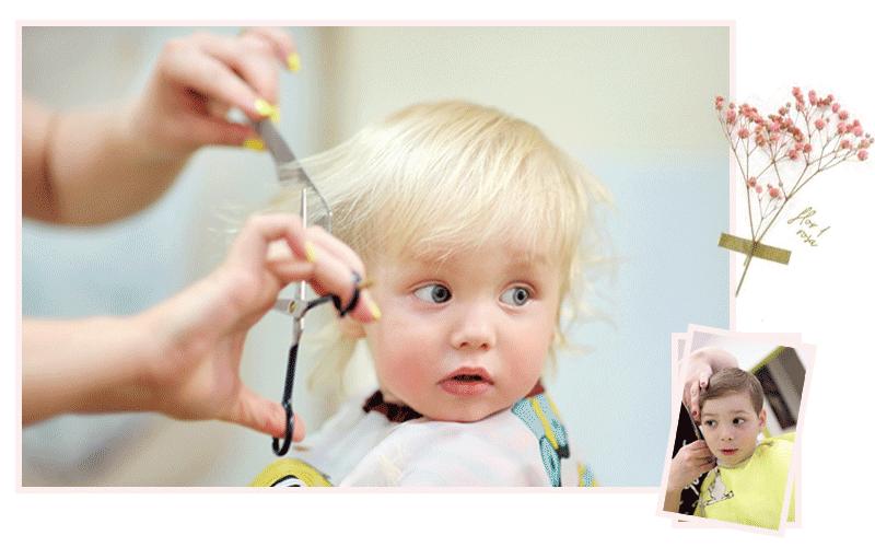 آموزش کوتاهی مو کودک