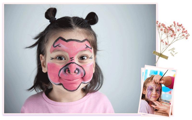 آموزش چهره پردازی کودک