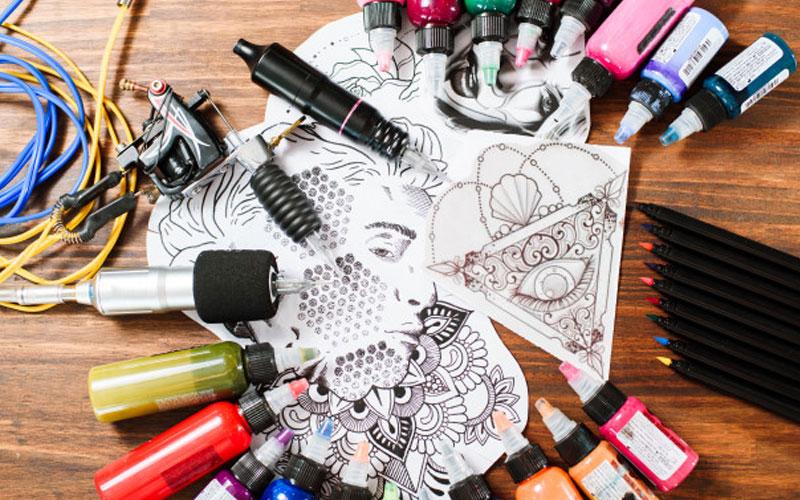 ترکیب رنگ تاتو برای انواع پوست