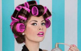 روش فر کردن مو با بیگودی