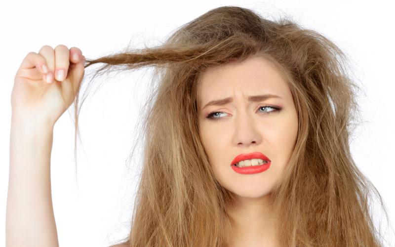 تقویت موی آسیب دیده با دکلره
