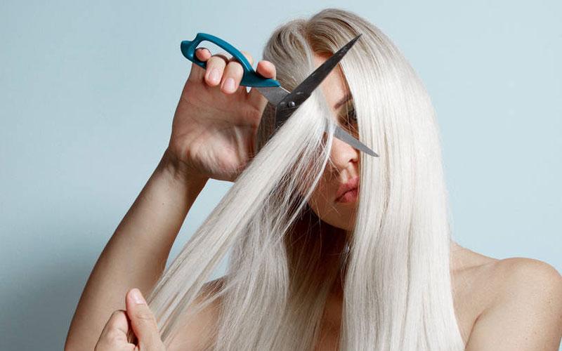 درمان موی آسیب دیده با دکلره