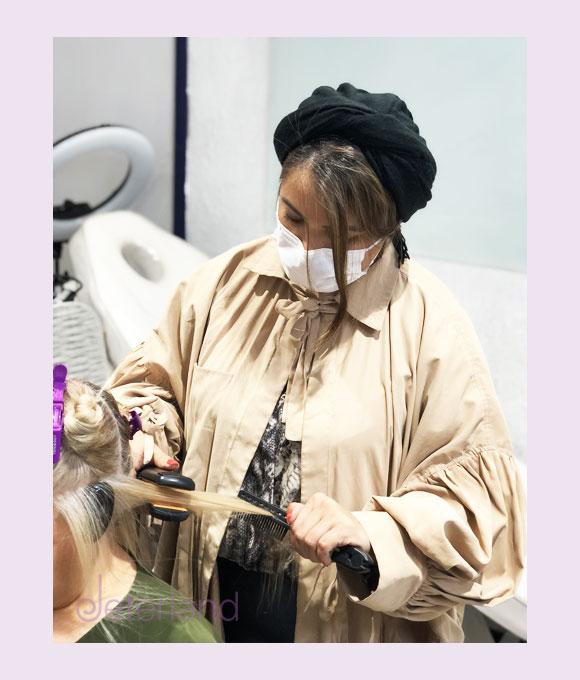 دوره تخصصی آموزش صاف کردن مو