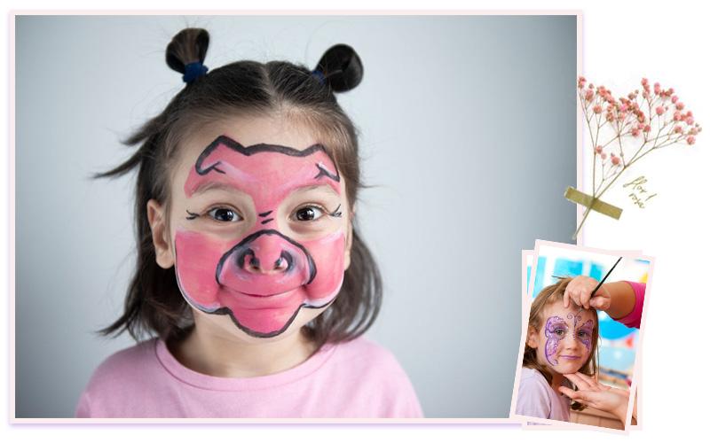 آموزش آرایش و گریم کودک با مدرک فنی و حرفه ای